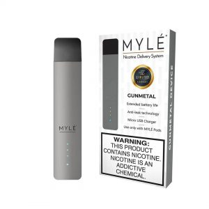 MYLÉ GunMetal Vape Device in Dubai