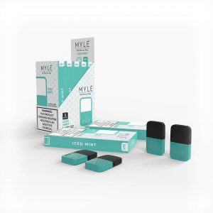 MYLÉ Iced Mint Vape Pods in Dubai