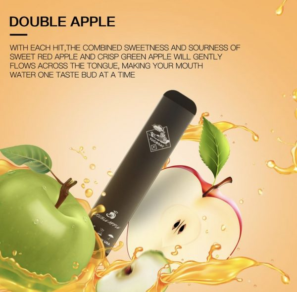 Authentic Double Apple by Tugboat Disposable Pods – V2 (Pack of 3!) in DUBAI/UAE
