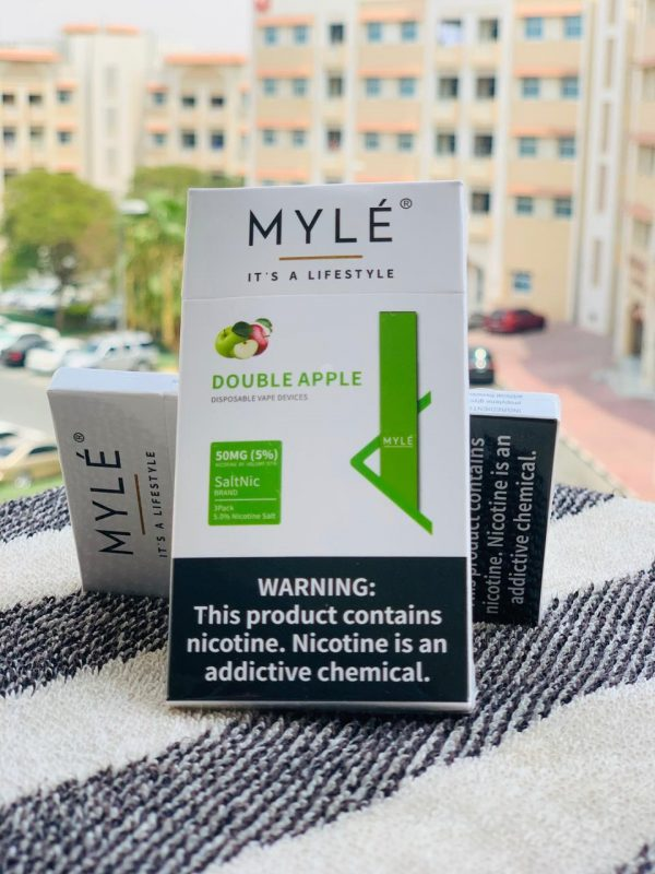 MYLE Disposable Pod (Double Apple) in DUBAI/UAE