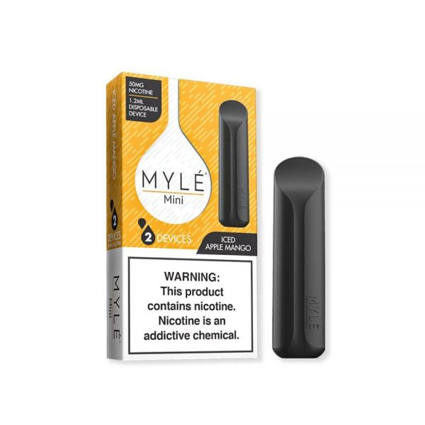MYLE Mini Iced Apple Mango Disposable Device in Dubai/UAE
