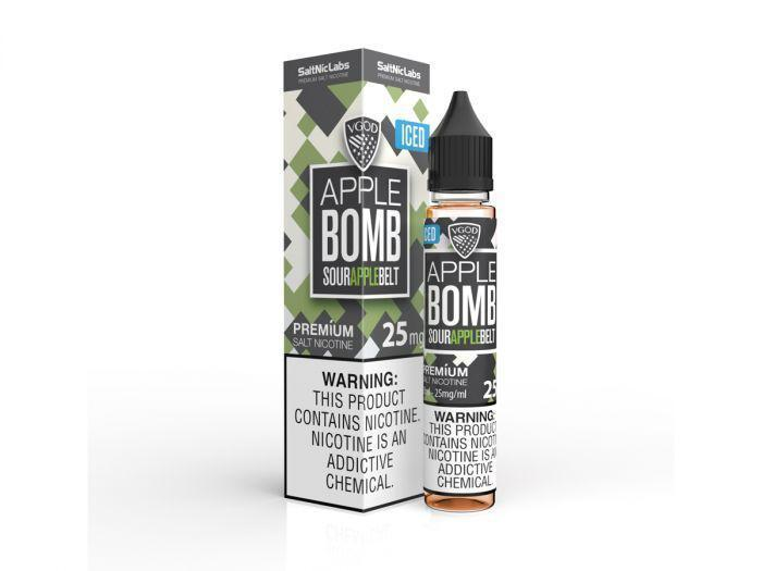 Apple Bomb Iced–VGOD SaltNic 30mL in Dubai/UAE