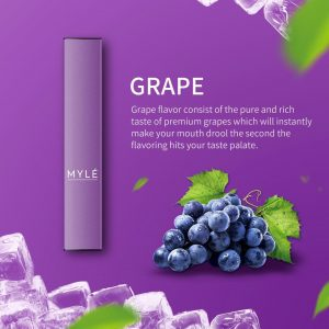 MYLE DISPOSABLE DEVICE GRAPE in DUBAI/UAE