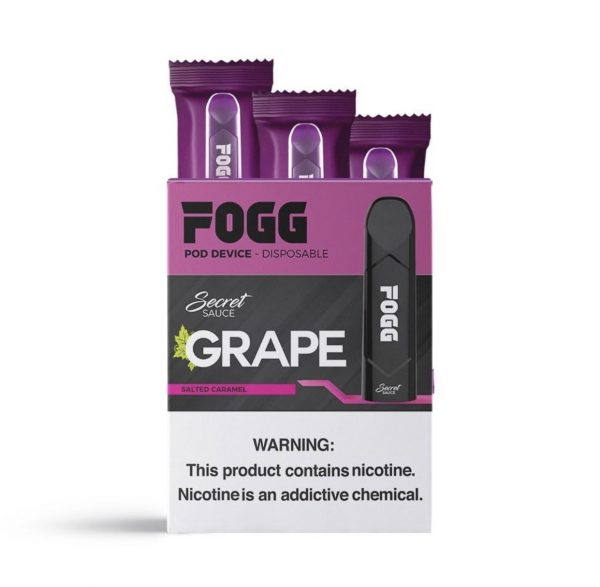 GRAPE – SECRET SAUCE DISPOSABLE POD DEVICES BY FOGG VAPE IN DUBAI/UAE