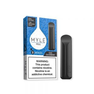 MYLE Mini Iced Quad Berry Disposable Device in Dubai/UAE
