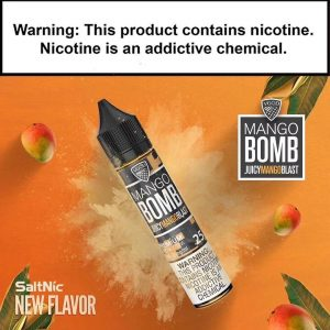 VGOD Saltnic Mango Bomb E-liquid -30mL in Dubai/UAE