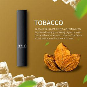 MYLE Disposable Pod Tobacco in Dubai/uae