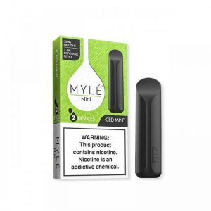 MYLE Mini Iced Mint Disposable in Dubai/UAE