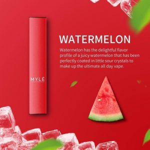 MYLE Disposable Watermelon Vape Devices in DUBAI/UAE