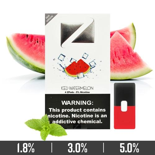 ICED WATERMELON ZIIP PODS FOR JUUL DEVICES IN DUBAI/UAE