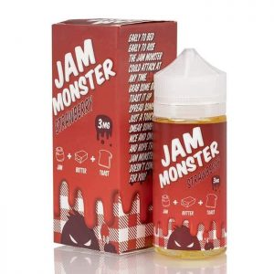 STRAWBERRY – JAM MONSTER LIQUIDS – 100ML IN DUBAI/UAE