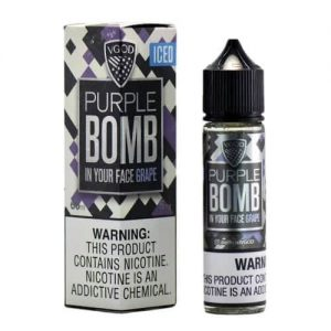 ICED PURPLE BOMB BY VGOD E-LIQUID 60ML IN DUBAI/UAE