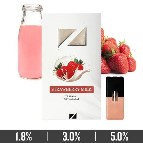 STRAWBERRY MILK ZIIP PODS FOR JUUL DEVICES IN UAE/DUBAI