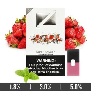 ICED STRAWBERRY ZIIP JUUL COMPATIBLE PODS IN UAE/DUBAI