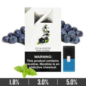 ICED BLUEBERRY ZIIP PODS FOR JUUL DEVICES IN DUBAI/UAE