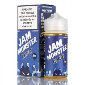 BLUEBERRY – JAM MONSTER LIQUIDS – 100ML IN DUBAI/UAE