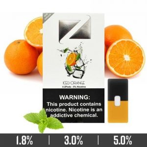 ICED ORANGE ZIIP PODS FOR JUUL DEVICES IN UAE/DUBAI