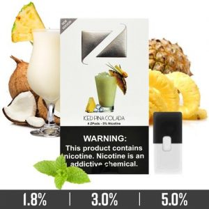 Iced Pina Colada Ziip Pods for Juul Devices in Dubai/UAE