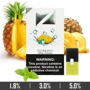 ICED PINEAPPLE ZIIP PODS FOR JUUL DEVICES IN UAE/DUBAI