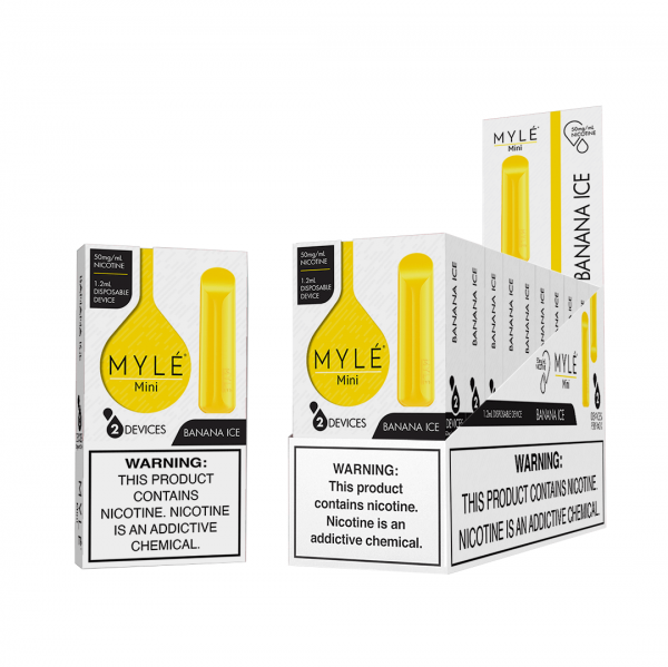 MYLÉ Mini – Banana Ice Disposable Device in Dubai/UAE