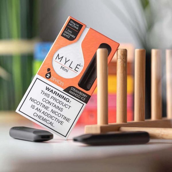 MYLÉ Mini – Strawberry Mango Ice Disposable Device in dubai/UAE