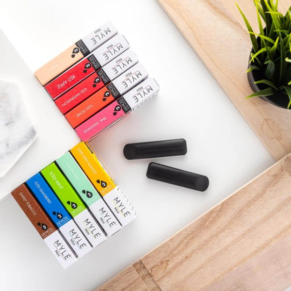 Among young people who have tried vaping, most used a flavored product the primary time.