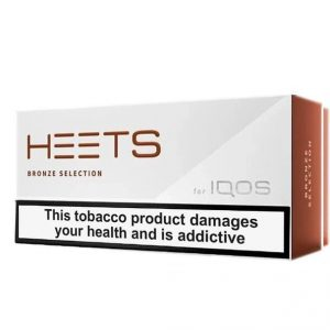 IQOS HEETS BRONZE SELECTION (10PACK) IN DUBAI/UAE