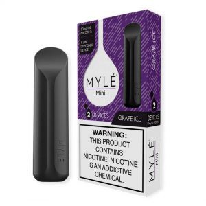 MYLÉ Mini – Grape Ice Disposable Device in Dubai/UAE