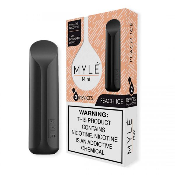 MYLÉ Mini – Peach Ice Disposable Device IN DUBAI/UAE